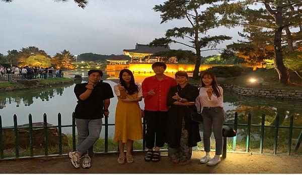 직업지원팀 팀연수 기념 단체사진